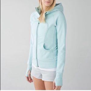 Lululemon Light Blue Scuba Hoodie